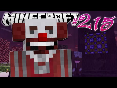 Minecraft | THE CLOWN DIMENSION | Diamond Dimensions Modded Survival #215