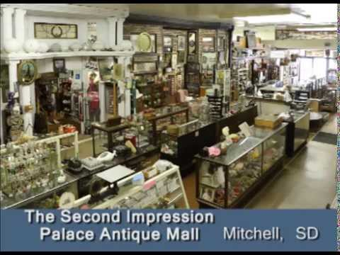 Mitchell South Dakota's Second Impression Antiques Mall on Our Story's Outside Sweet Swine County