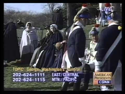 Re-enactment of George Washington's Funeral