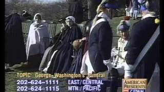 Re-enactment of George Washington s Funeral