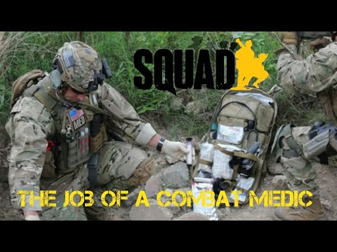 The job of a combat medic ► Squad Alpha (full round gameplay)