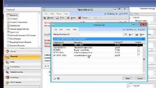 Microsoft Dynamics GP 2013 Favorite Feature-Reconcile to GL