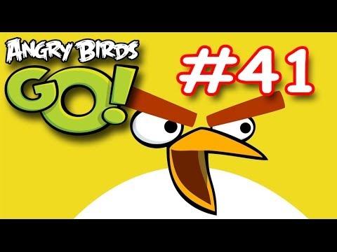 Angry birds Go Air! Серия 41! Честный бой! Красная Птица! Прохождение игры Энгри бердз ГОУ