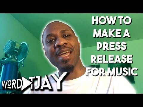 How to Create A Press Release for Music