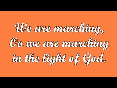 We Are Marching (South African Hymn)