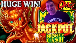 High Limit Mighty Cash Slot Machine HANDPAY JACKPOT - FANTASTIC Session  | Season 8 | Episode #23