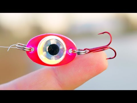 Fishing With A BATTERY Powered Light Up Lure!? (AWESOME)