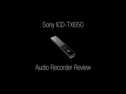 Sony ICD-TX650 Review - 4k