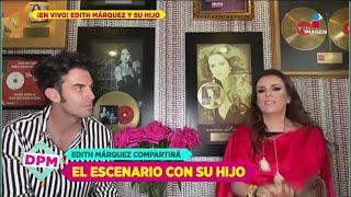 Edith Marquez y su hijo: Pleito con Miguel Bosé, piloto de  Papá Soltero y más | De Primera Mano