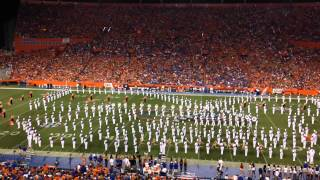 University of Florida - UF Marching Band 9/13/14 - Halftime Show - James Brown