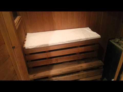 видео: сауна в однокомнатной квартире