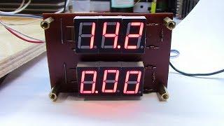 Вольтамперметр для блока питания на ICL7107 своими руками
