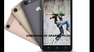 [Hindi - हिन्दी] Unboxing Of Micromax Canvas Spark 2 Plus Q350 Indian Retail Unit