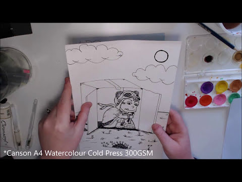 How to Print onto Thick or Watercolour Paper - Printer Guide.
