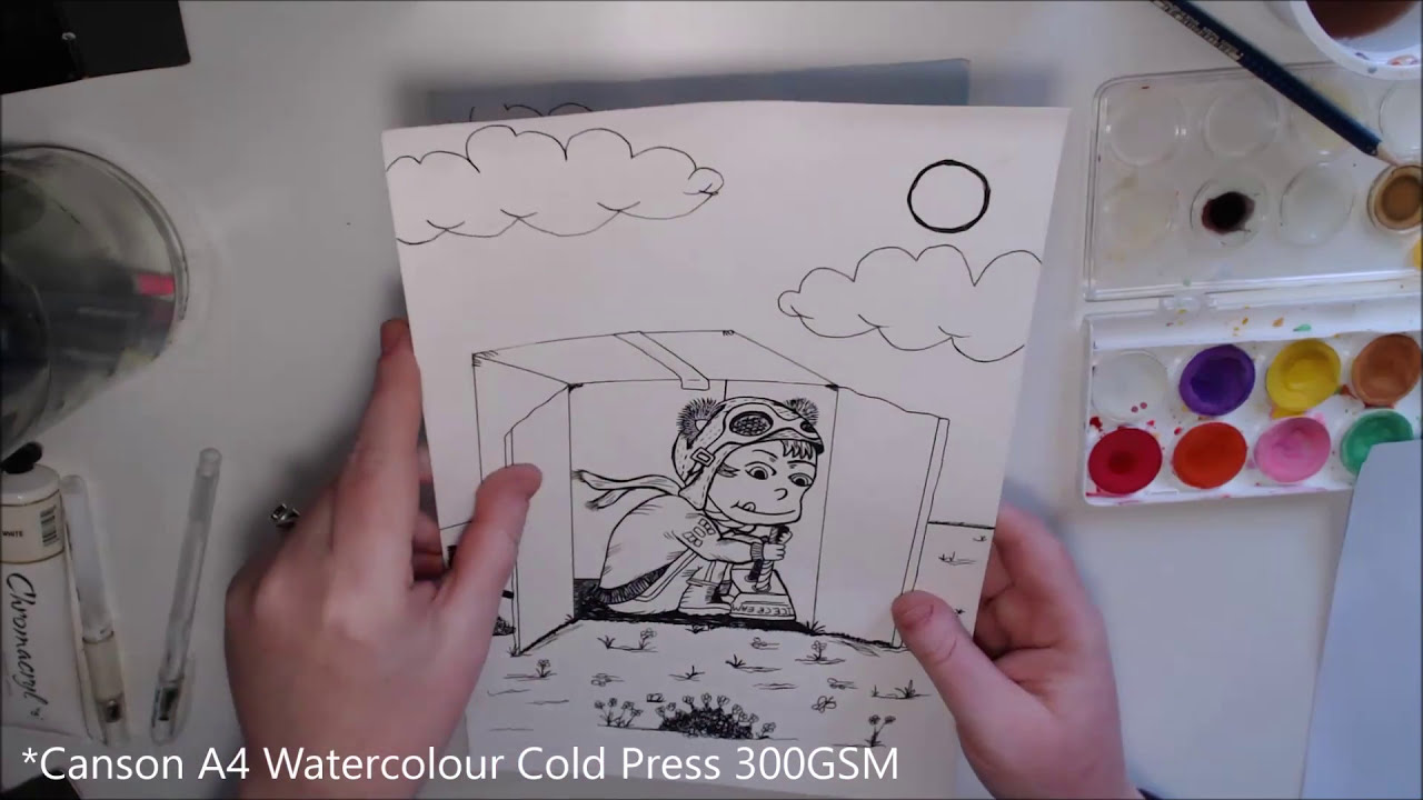 How to Print onto Thick or Watercolour Paper - Printer Guide