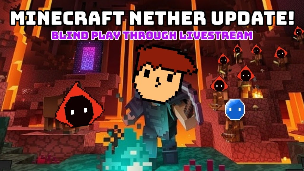 What Happened To The NETHER!?! (Minecraft Nether Update Blind Play-Through!) - BTC