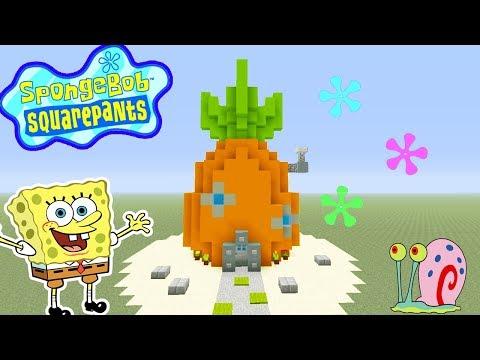 Minecraft Tutorial How To Make Spongebob Squarepants House Spongebob Squarepants Youtube