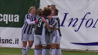 Brescia CF-Juventus Women 0-4 highlights and goals