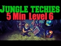 Techies Jungle Guide 7.02- [ Arcane Boots + Soul Ring IN 5 Min LeveL 6 ] - Dota 2
