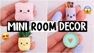 EXTREME DIY CHALLENGES! MINI ROOM DECOR?! *making the world's smallest room decor*