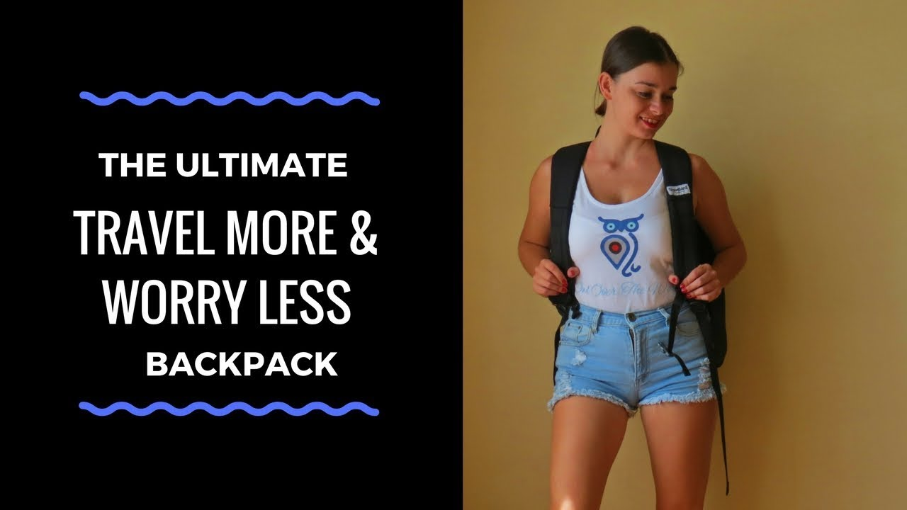 The Ultimate Travel More   Worry Less Backpack by Standard Luggage ... b0edea65c01aa