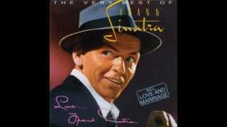 "Frank Sinatra  ""(Love Is) The Tender Trap"""