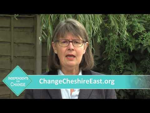 Independent Councillor Amanda Stott, Bollington First, Cheshire East Council