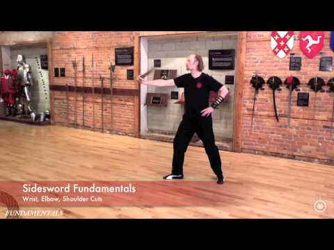 Wrist, Elbow, Shoulder Cuts - Sidesword