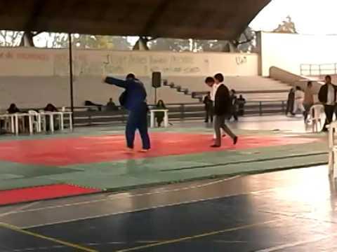 Final Judo -90Kg ASCUN Bogota 2013