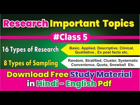 Research Methodology Book In Hindi