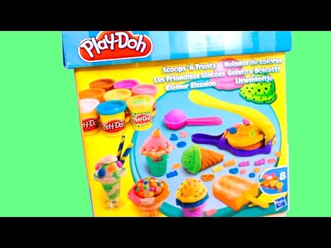 Ice cream Play Doh playset playdough toy by Unboxingsurpriseegg