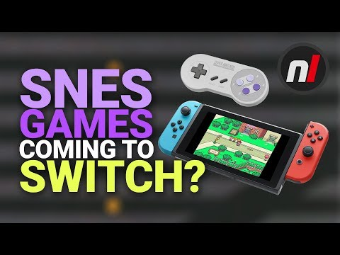 Are Super Nintendo Games Finally Coming To Switch? | SNES