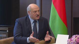 Вы поступили ПОРЯДОЧНО! Лукашенко поблагодарил Путина и Россию за ПОДДЕРЖКУ Беларуси