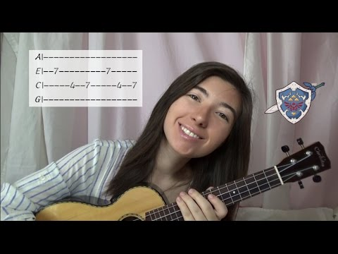 Song of Time Ukulele Tutorial (Legend of Zelda)