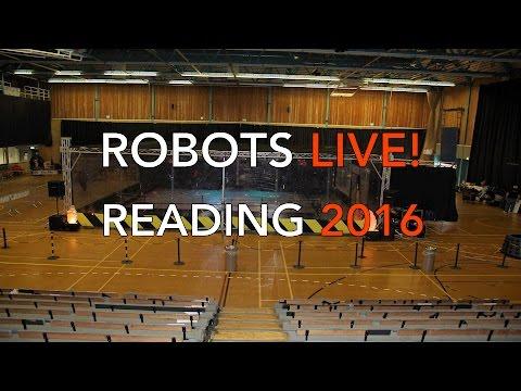 Robots Live! Reading 2016