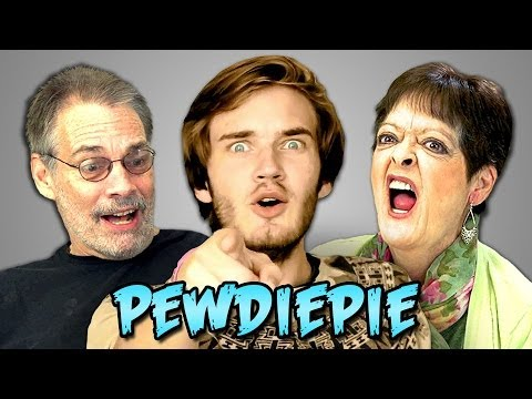 Make ELDERS REACT TO PEWDIEPIE Pics