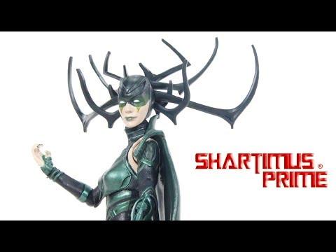 Marvel Legends Hela Thor Ragnarok Gladiator Hulk BAF Wave Action Figure Hasbro Toy Review