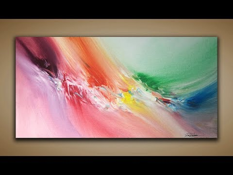 Abstract Painting / DEMO 88 / 1 Minute / Abstract Art / Painting Techniques