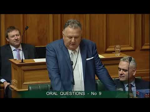 Question 9 - Clayton Mitchell to the Minister of Forestry