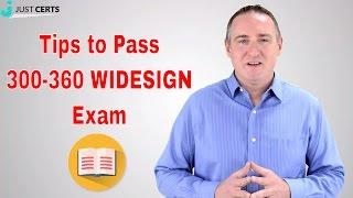 300-360 - Tips to Pass 300-360 WIDESIGN Exam | 300-360 Dumps