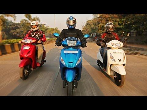 Mahindra Gusto vs Honda Activa vs Hero Maestro vs TVS Jupiter  | Specifications Comparison