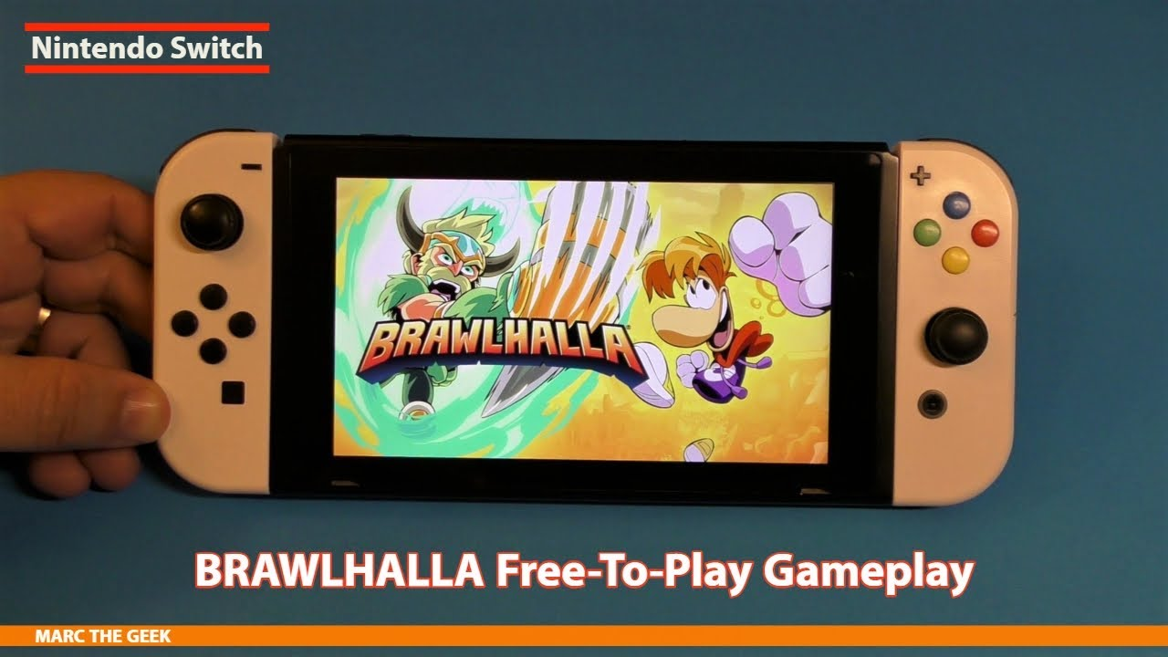 Nintendo Switch BRAWLHALLA Free-To-Play Gameplay