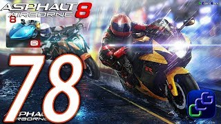 Asphalt 8 Airborne Walkthrough - Part 78 - Moto Blitz Season 1: Biker Beginnings