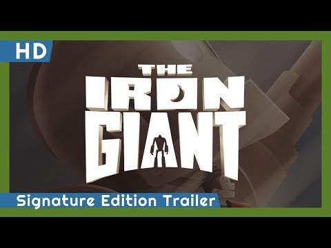 The Iron Giant trailers