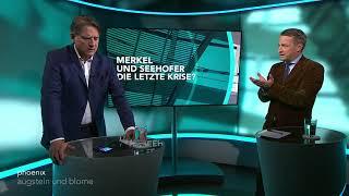 """Augstein und Blome vom 15.06.2018:  """"MERKEL UND SEEHOFER - DIE LETZTE KRISE?"""""""