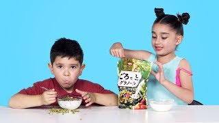 Kids Try Cereal from Around the World | Kids Try | HiHo Kids
