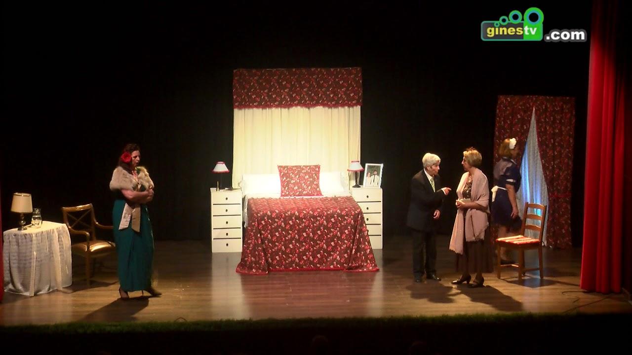 Representación teatral de 'El sereno', a cargo de la Asociación Releñe de Gines