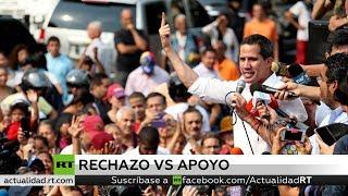 Continúan las reacciones internacionales al golpe de Estado en Venezuela
