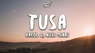 Baixar KAROL G, Nicki Minaj - Tusa (Lyrics / Letra)