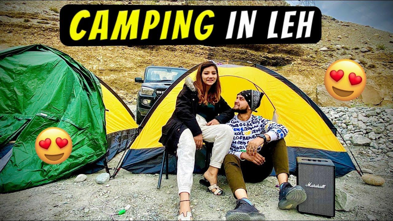 Camping in LEH ❤️
